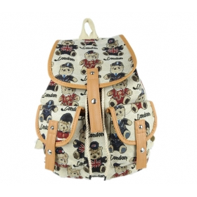 Medium Size Canvas Backpack