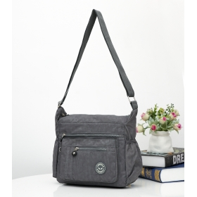 Crinkle Nylon Cross-body Casual bag