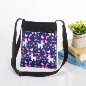 HD Print Cross Body Bag