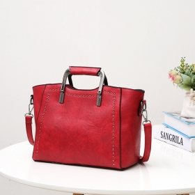 Small PU Leather Satchel