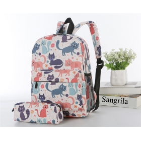 Backpack With Pencil Case